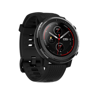 Amazfit Stratos 3 Smartwatch with 70 Hours Continuous GPS smartwatch Amazfit India