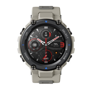 Amazfit T-Rex Pro with 15 Military Grade Certifications, 10 ATM Water Resistance and QUAD GPS - Amazfit India