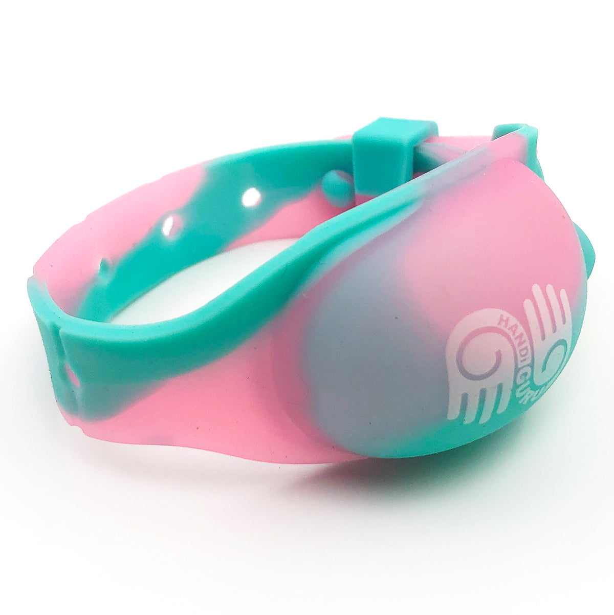 <b>HandiGuru</b> Refillable Silicone Wristband Kit | <b>Mixed Colors</b>