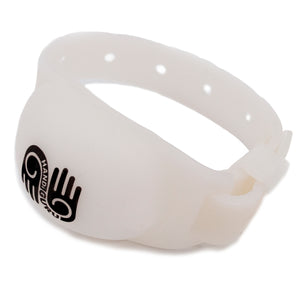 <b>HandiGuru</b> Refillable Silicone Wristband Kits | <b>Solid Colors</b>