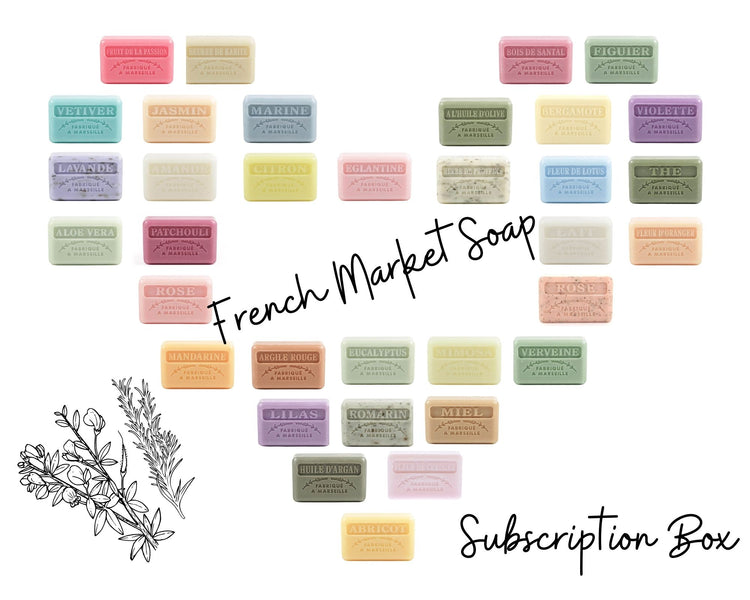 Introducing the French Market Soap Subscription Box!