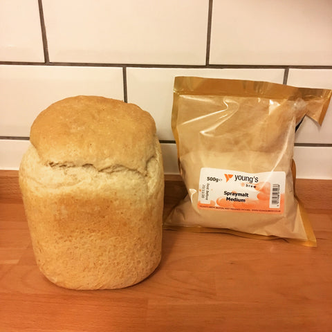 Breadmaker Bread with Malt Extract
