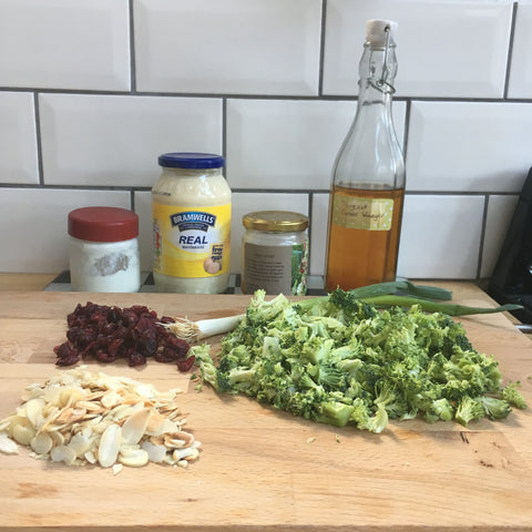 Broccoli slaw recipe