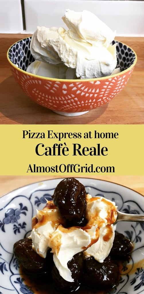 Pizza Express Caffe Reale Recipe