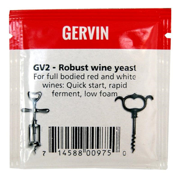 Gervin GV2 Robust Wine Yeast