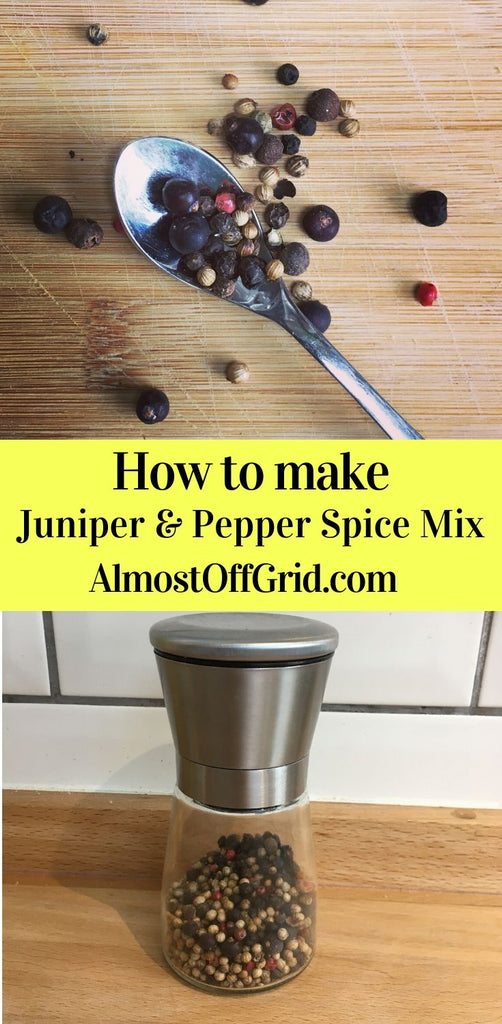 Juniper and Pepper Spice Mix