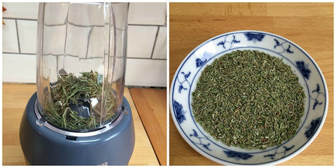 Dried Rosemary Powder