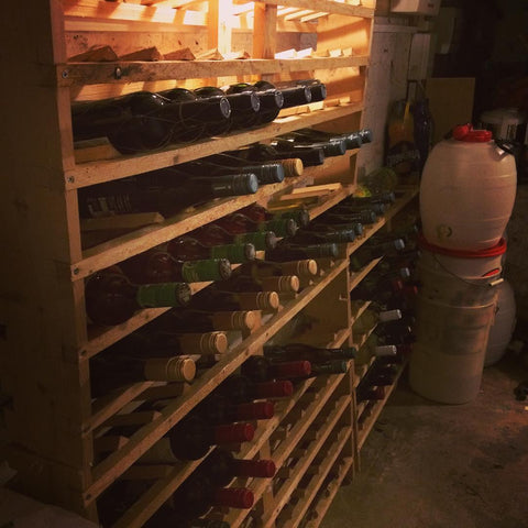 Freecycle wine racks