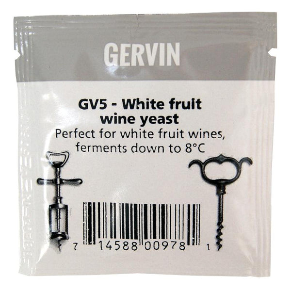 GV5 Gervin White Fruit Wine Yeast