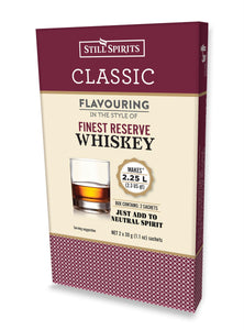 Almost Off Grid STILL SPIRITS Classic Finest Reserve Whiskey Flavouring - Almost Off Grid