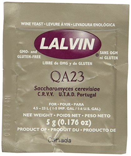 Lallemand Lalvin White Wine Yeast<br>QA23 (5g) - Almost Off Grid