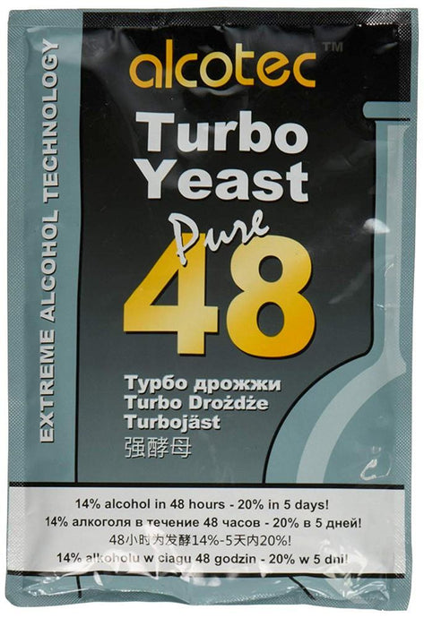 Alcotec Turbo Yeast Pure 48 - Almost Off Grid