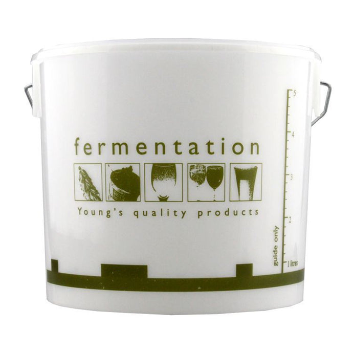 Young's 5 Litre Fermentation Bucket with Lid - Almost Off Grid