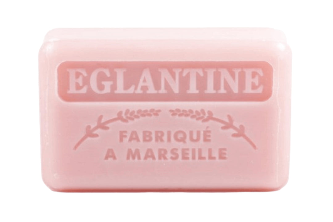 Savon de Marseille Eglantine Wild Rose French Market Soap