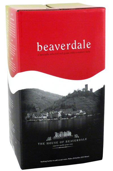 Young's Beaverdale Merlot<br>30 Bottle Wine Kit - Almost Off Grid
