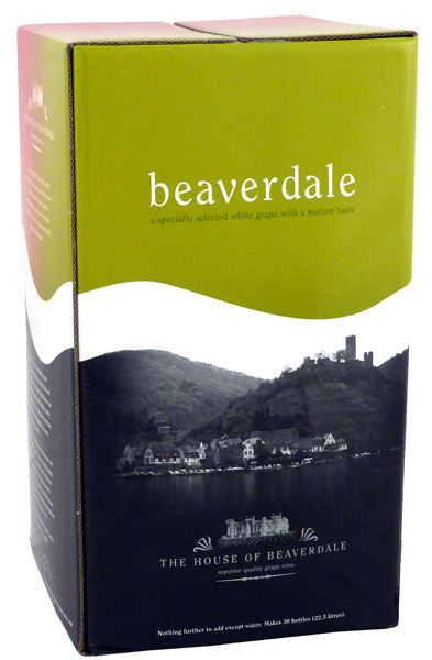 Ritchies Beaverdale Chardonnay<br>30 Bottle Wine Kit - Almost Off Grid