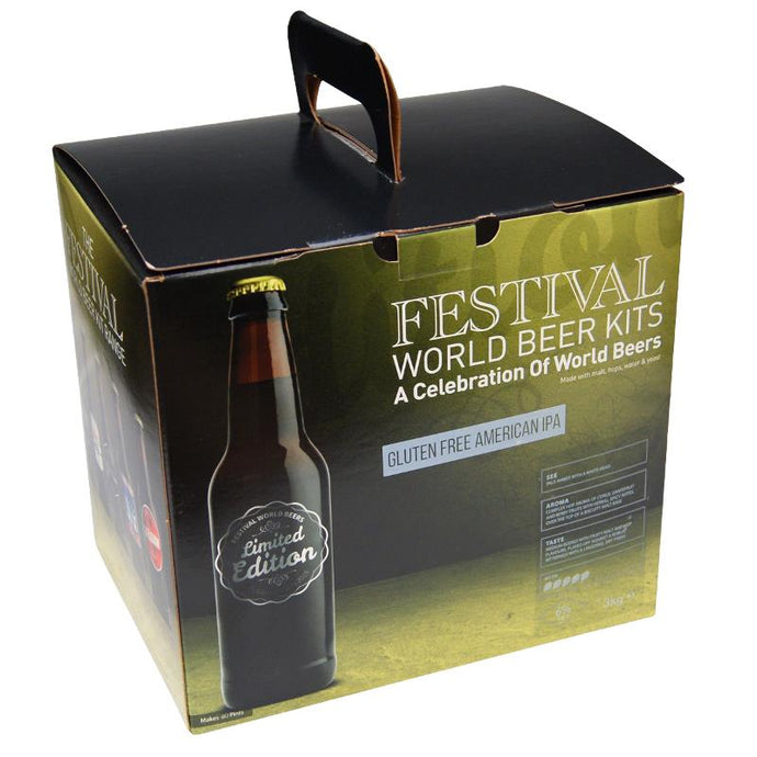 Ritchies Festival Gluten Free American IPA Beer Kit - Almost Off Grid