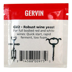 Muntons Gervin GV2 Robust Wine Yeast (5g) - Almost Off Grid