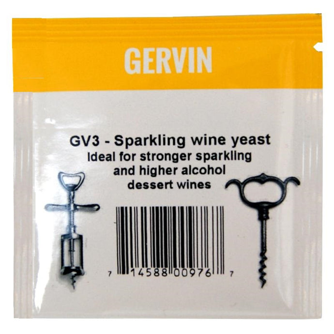 Muntons Gervin GV3 Sparkling Wine Yeast (5g) - Almost Off Grid