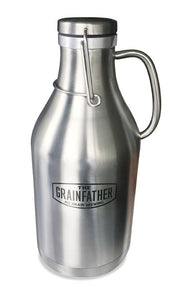 The Grainfather Stainless Steel Swing Top Growler - Almost Off Grid