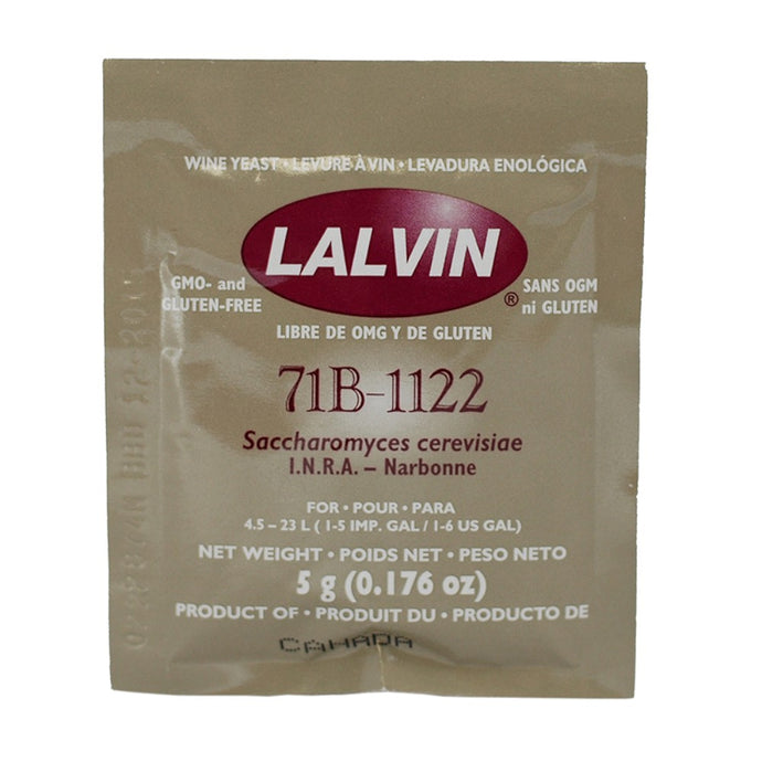 Lallemand Lalvin Nouveau Yeast<br>71B (5g) - Almost Off Grid