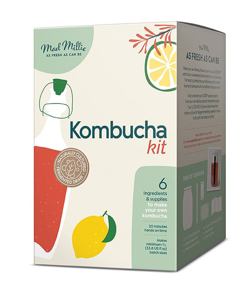 Mad Millie Kombucha Kit - Almost Off Grid