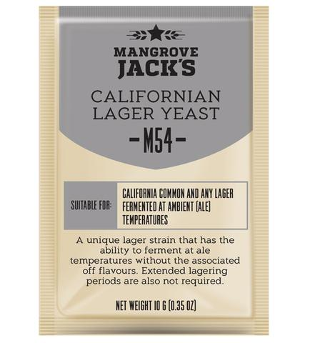 Mangrove Jack's Craft Series M54 Californian Lager Yeast - Almost Off Grid