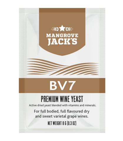 Mangrove Jack's Premium Wine Yeast (BV7) - Almost Off Grid