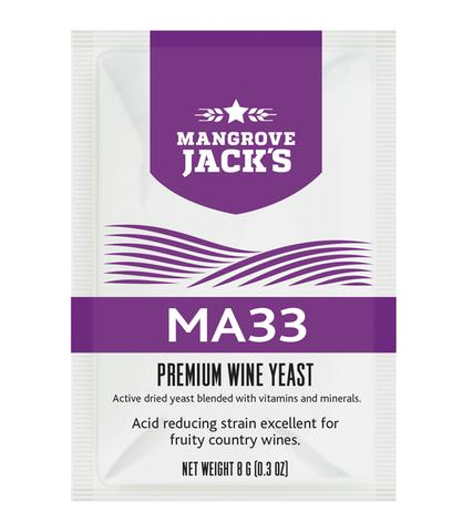 Mangrove Jack's Premium Wine Yeast (MA33) - Almost Off Grid