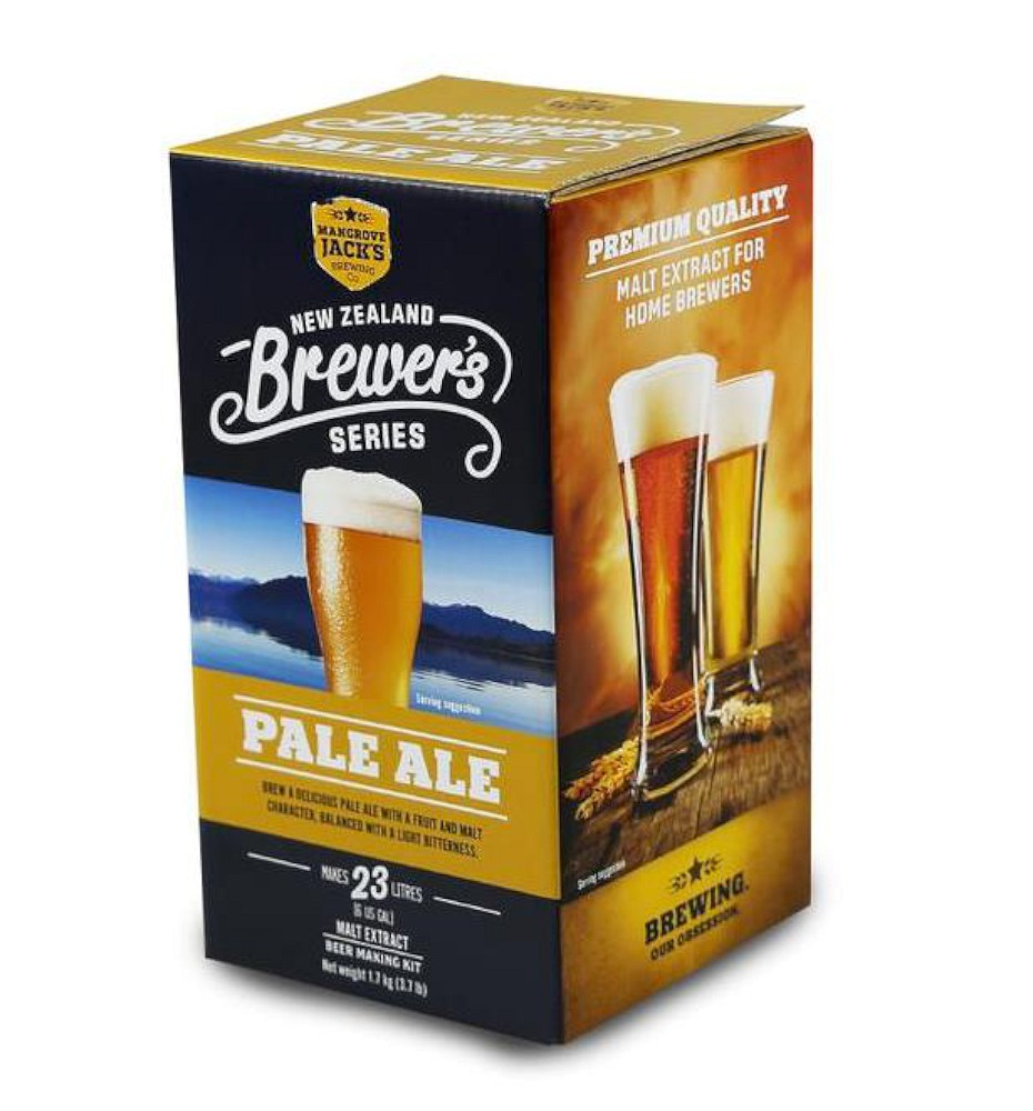 Mangrove Jack's Mangrove Jack's NZ Brewer's Series Pale Ale Beer Kit - Almost Off Grid