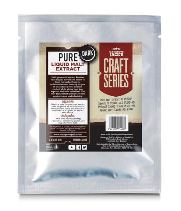 Mangrove Jack's Pure Liquid Malt Extract - Dark (1.5kg) - Almost Off Grid