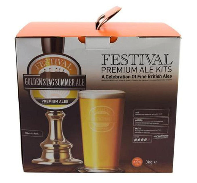 Ritchies Festival Golden Stag Summer Ale Beer Kit - Almost Off Grid