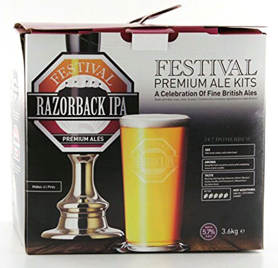 Ritchies Festival Razorback IPA Beer Kit - Almost Off Grid