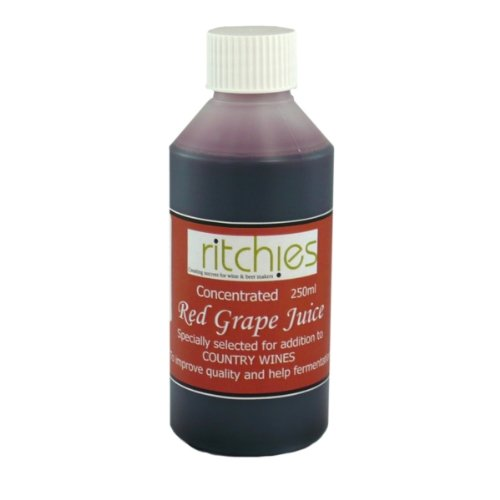 Ritchies Ritchies Red Grape Juice Concentrate (250ml) - Almost Off Grid