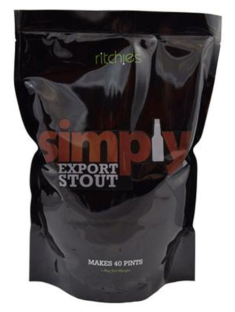 Ritchies Simply Export Stout Kit - Almost Off Grid
