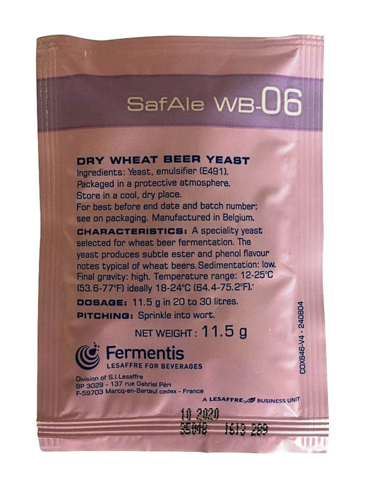 Fermentis SafAle WB-06 Wheat Beer Yeast - Almost Off Grid