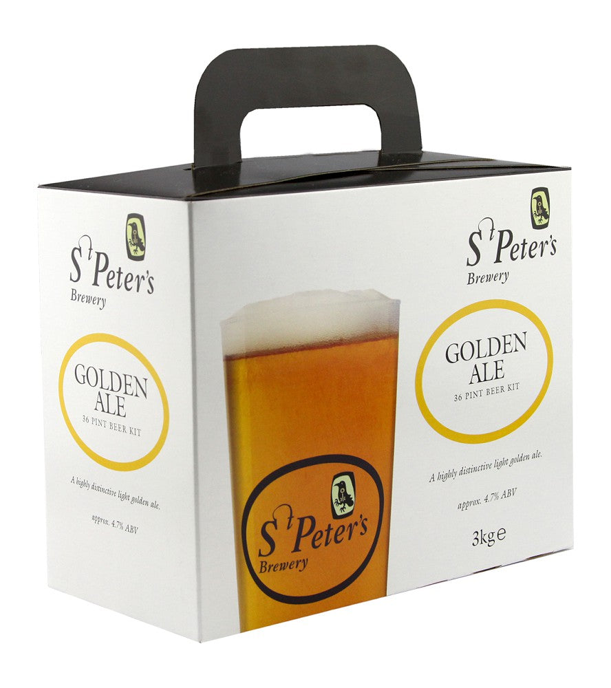 St Peter's Brewery Golden Ale Kit - Almost Off Grid