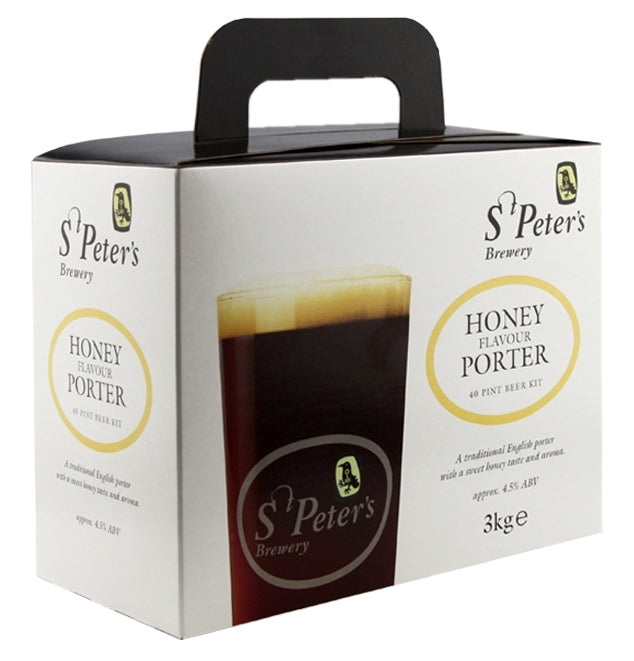 St Peter's Brewery Honey Porter Beer Kit - Almost Off Grid