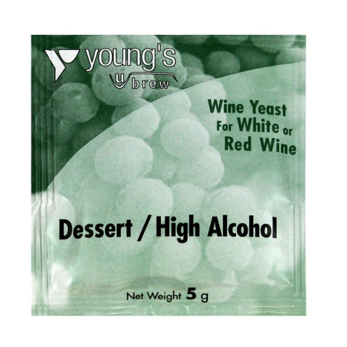 Young's Dessert/High Alcohol Wine Yeast (5g) - Almost Off Grid