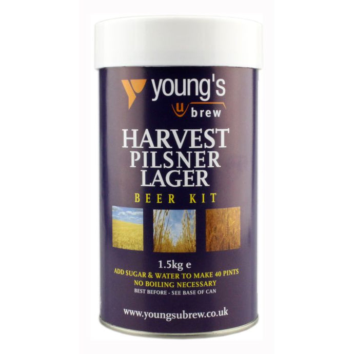 Young's Harvest Pilsner Lager Kit - Almost Off Grid