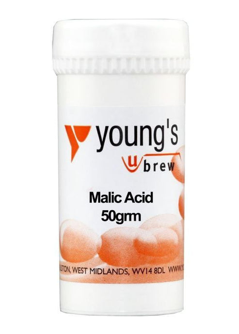 Young's Malic Acid (50g) - Almost Off Grid