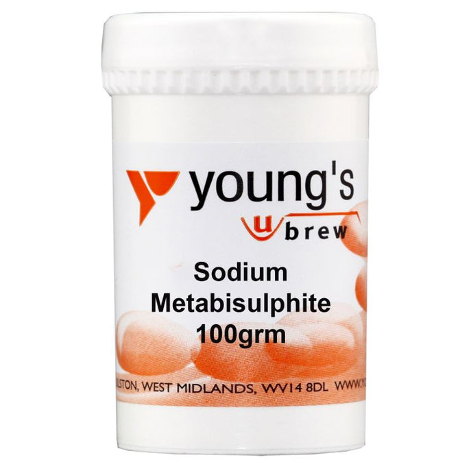 Young's Young's Sodium Metabisulphite (100g) - Almost Off Grid