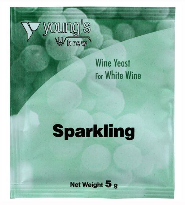 Young's Sparkling Wine Yeast (5g) - Almost Off Grid