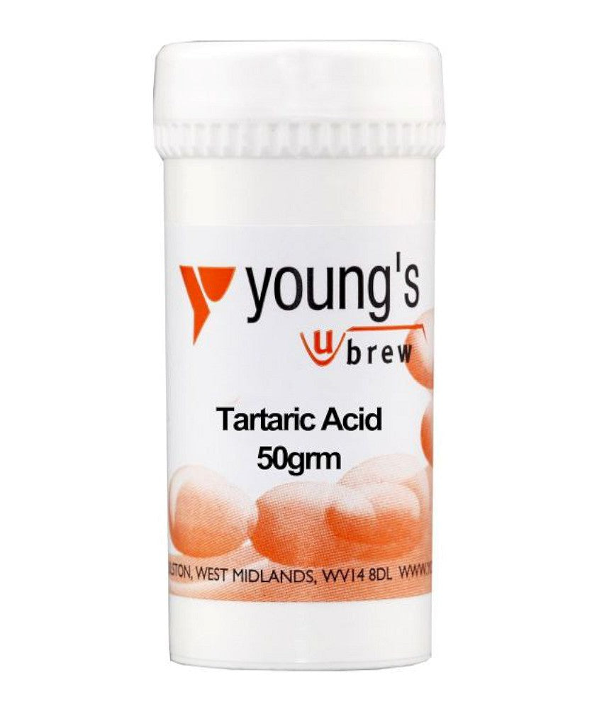 Young's Tartaric Acid (50g) - Almost Off Grid