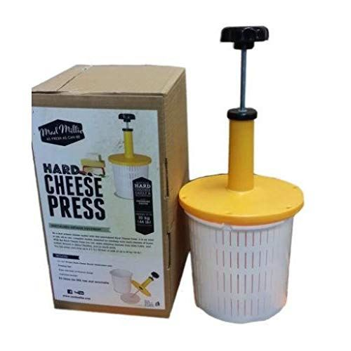 Mad Millie Hard Cheese Press Kit with Pressure Gauge - Almost Off Grid