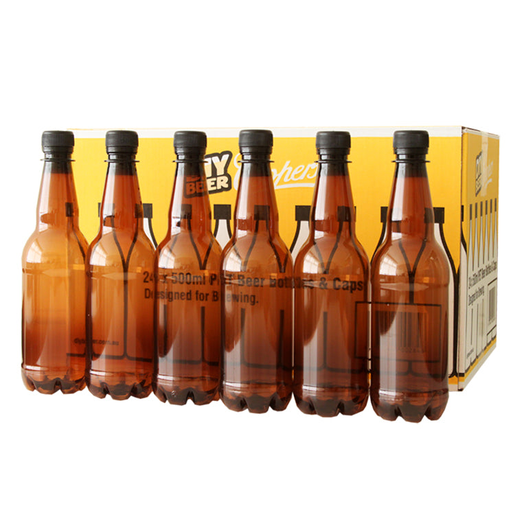 Coopers Cooper's PET Beer 500ml Bottles & Caps (24) - Almost Off Grid