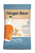 Load image into Gallery viewer, Mad Millie Ginger Beer Yeast Sachets (3) - Almost Off Grid