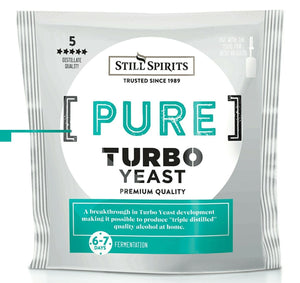 Still Spirits Pure Turbo Yeast (110g) - Almost Off Grid