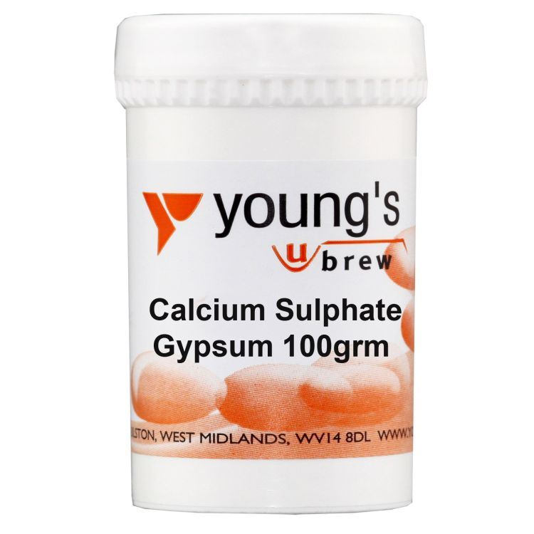 Young's Calcium Sulphate Gypsum (100g) - Almost Off Grid