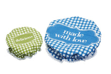 Load image into Gallery viewer, Kitchen Craft Fabric Food Covers - set of 2
